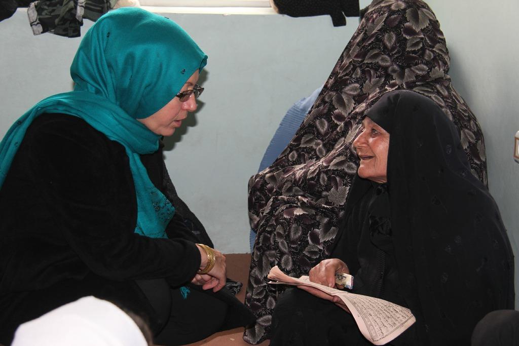 An AIL Teacher and an Elderly Student