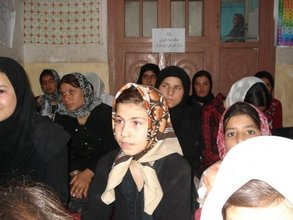 Fast Track literacy class in Herat