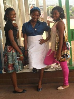 Girls planning towards a summer of field work