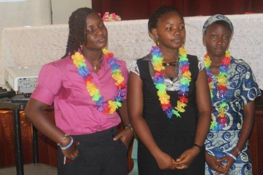 Develop Africa Girls Leadership Mentees