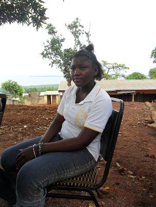 Girl at Door of Hope