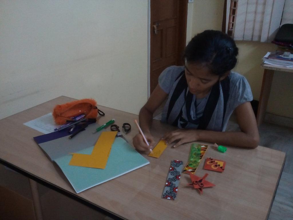Anitha at work...5