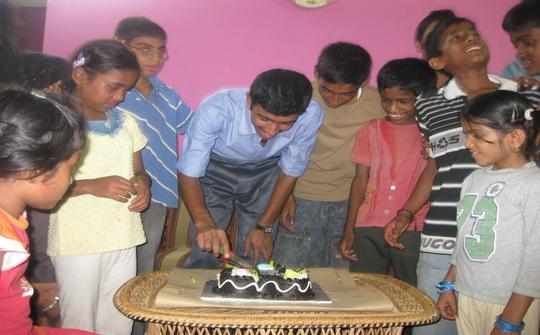 Food, medicines & education for 45 HIV+ve orphans