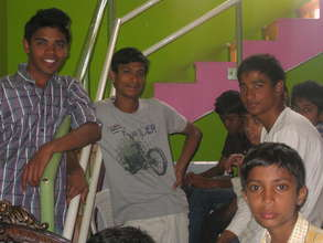 Vishal...3rd from left