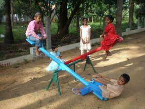 Smaller kids at play (Bangalore)