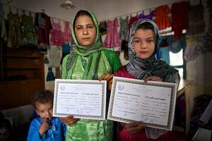 AIL Sewing Students