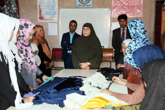 Tailoring: A Small-Business Skill for Afghan Women