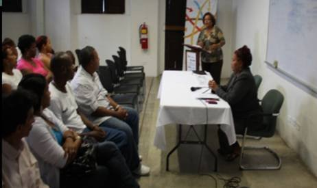 Training for Youth at-risk in Panama