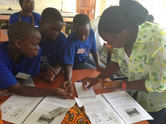 Local training on health and kit making