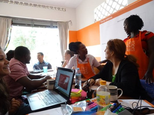 DfG Team discusses program strategy & planning