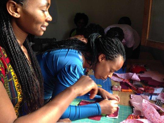 Women training to launch DfG DRC Congo