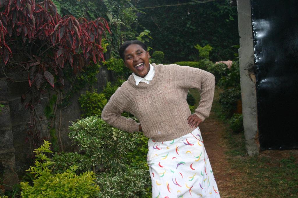 Gladys N in Kenya