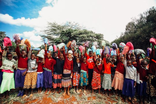 Empower African Girls with Hygiene and Education
