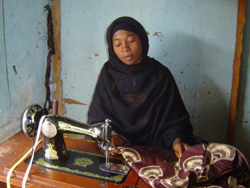 Sama'ila Tela Tailoring Business for At Risk Women