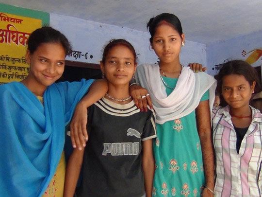 Part of the Ekta Adolescent group