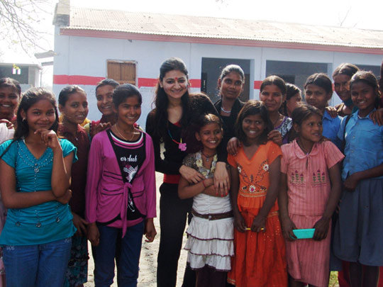 Provide Indian Girls with Leadership Development