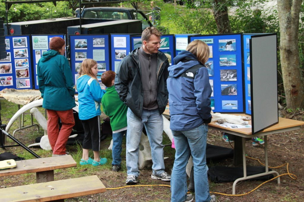 CPSMMSN displays at Deception Pass State Park, May