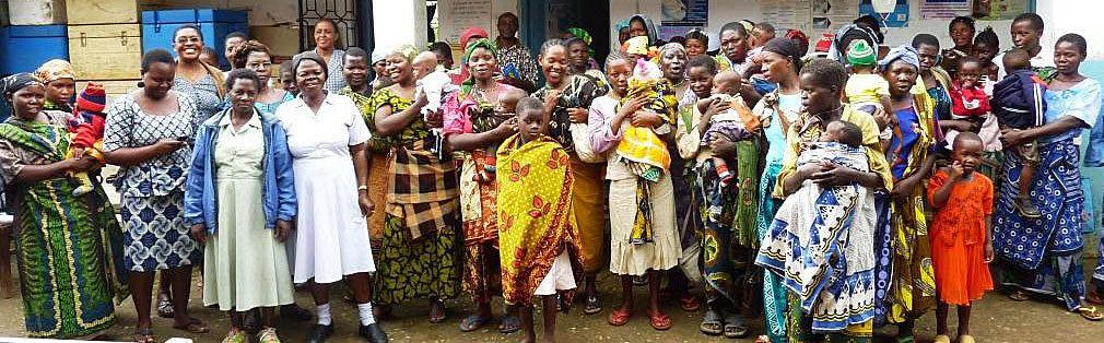Tanzania mothers in rural Ulanga