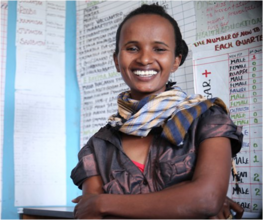 Aynalem, Heath Extension Worker in Rural Ethiopia