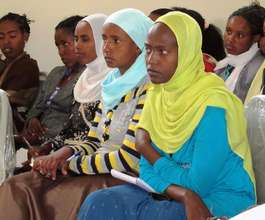 Ethiopian Midwives in a VSI Training Session