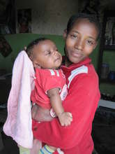 "Ethiopian mother with ""miso"" baby"