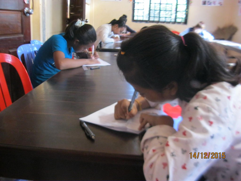 English class-Certificate Test