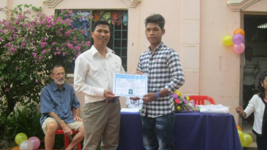 Director offers a life skill certificate