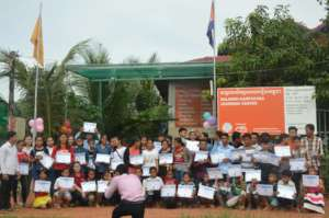Group photo of Certificate Party