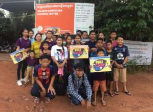 Pupils Team for World Cleaning Day