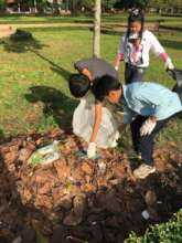 Cleaning activities in Siem Reap city