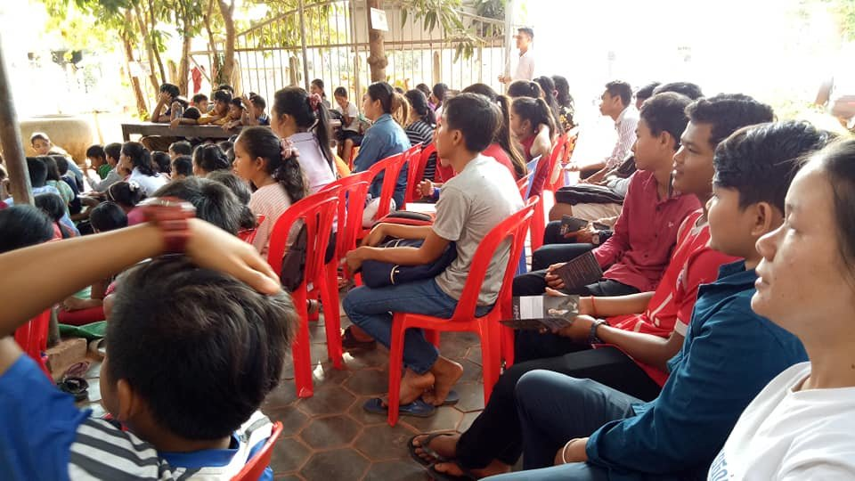 Students, parents and staff in the traffic law