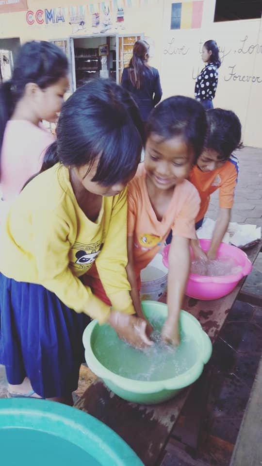 Hand washing practice