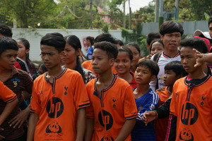 Final Football League in Siem Reap