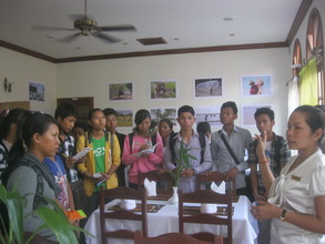 Field visit at the hotel of life skill students