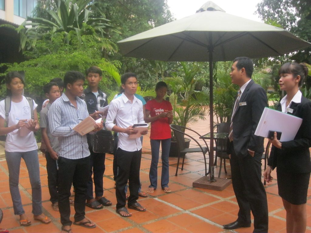 Life Skill Students Visit Pacific Hotel