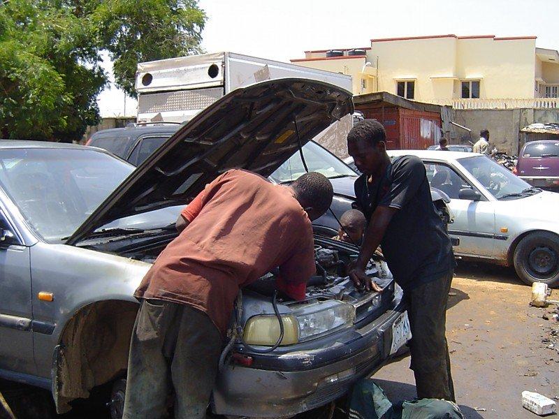 Create 6 jobs with an Automobile Repair Program