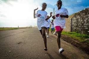 Training for the Liberian Marathon!