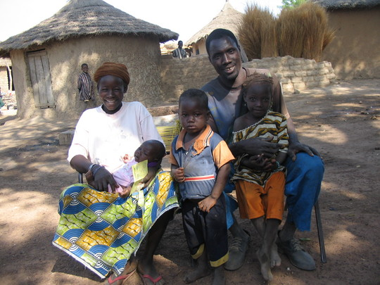 Samake Family - all vaccinated!