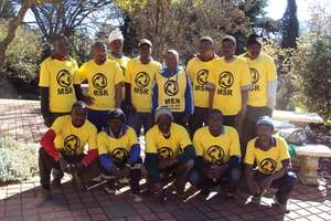Create work for 100 people in South Africa.
