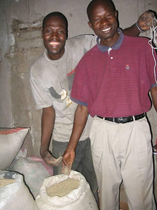 Loans help villagers build grain banks