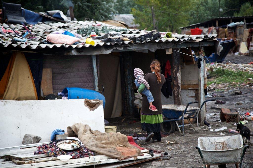 Slum in Belgrade