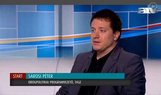 Drugreporter on TV