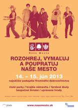 Be a part of Nase Mesto