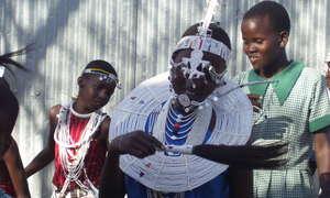 MASAI GIRLS DANCE FOR CONSERVATION