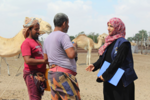 Doa'a explains the importance of safe water tanks