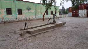 The school's broken well before the project
