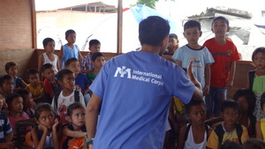 Hygiene education session at Matica'a Elementary