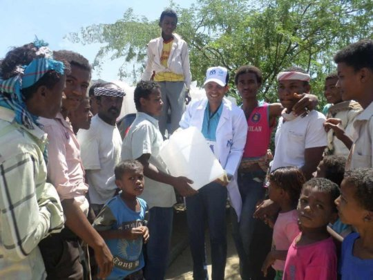 Kais assists in providing access to clean water
