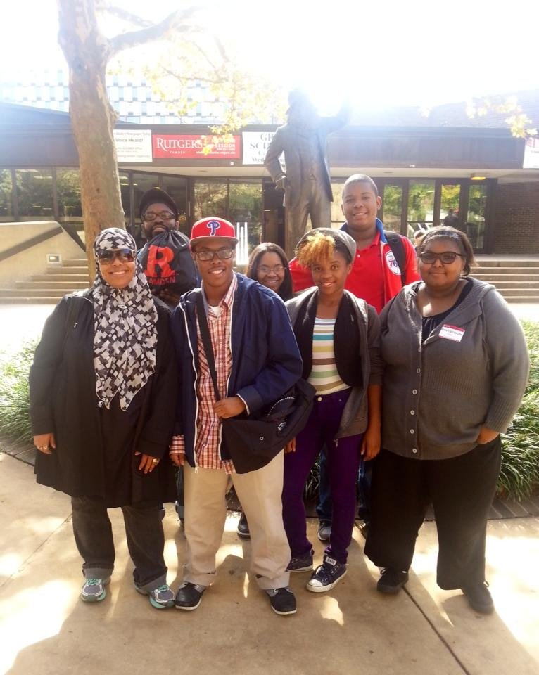 Teen Scholars Touring Rutgers-Camden