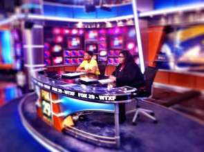 Raven and Jonathan at Fox 29 Philly